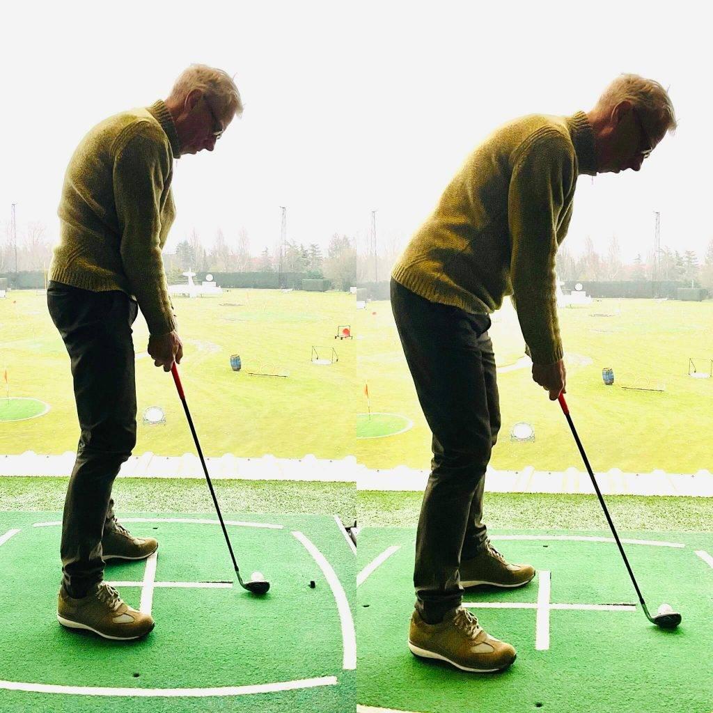 Basishouding golfswing
