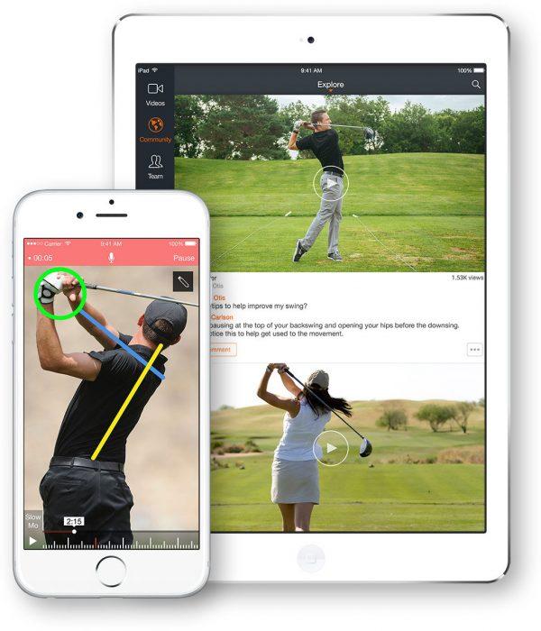 golf video analyse